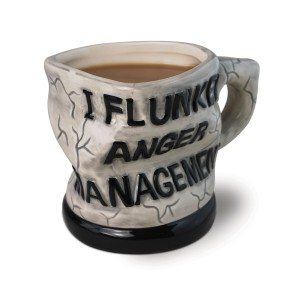 "Just in case it's hard to make out, it says, ""I flunked anger management"""