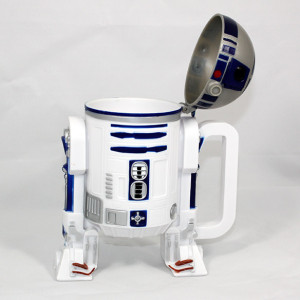 You know that R2-D2… always coming out with new tricks he can do.